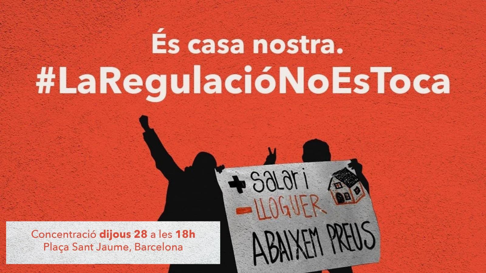 Read more about the article #LaRegulacióNoEsToca! Nuevo ataque al Derecho a la vivienda