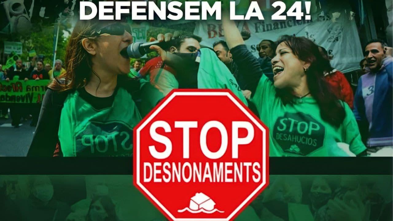 ¡Exigimos al futuro Parlament de Catalunya una nueva Ley de vivienda que recupere las medidas antidesahucios anuladas!