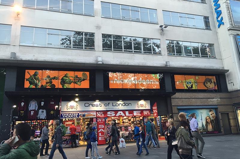 Nickelodeon London Video Wall - PAI