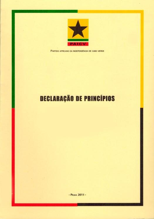 Declaração de Princípios