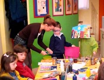 Κάθε Σάββατο πρωί αυτοτελή μαθήματα ζωγραφικής για παιδιά.