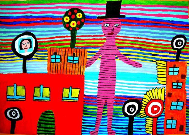 εργαστήρι ζωγραφικής, παιδικό εργαστήρι, παιδική τέχνη