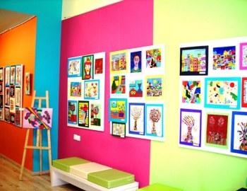 Έκθεση ζωγραφικής στο Εργαστήρι Παιδικής Τέχνης