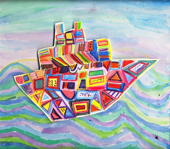εργαστήρι παιδικής τέχνης, παιδική ζωγραφική
