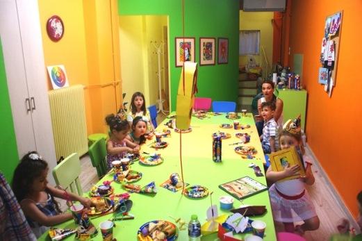 παιδικά πάρτι, καλλιτεχνικά πάρτι, διασκέδαση με την τέχνη