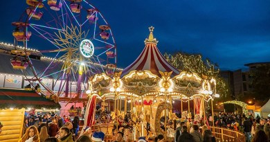 The Christmas Factory: Φαντασμαγορική γιορτή εγκαινίων