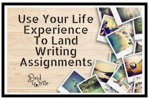 life experience writing assignments