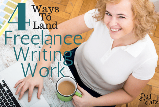 freelance writing work - paid write
