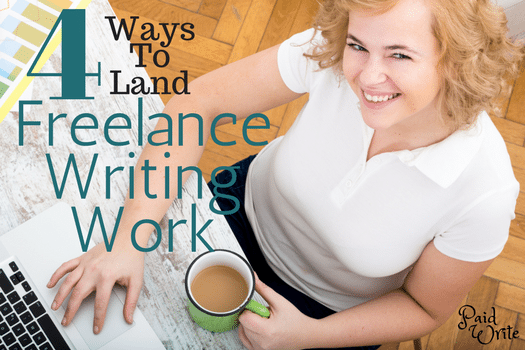 freelance writing work - paid write