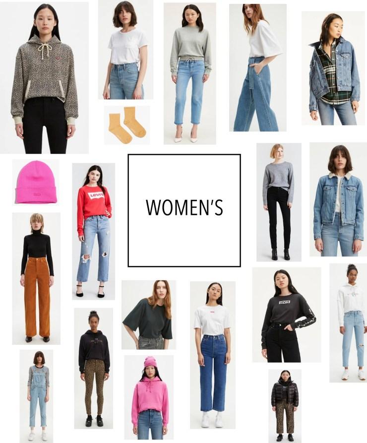 Women's Levi Sale