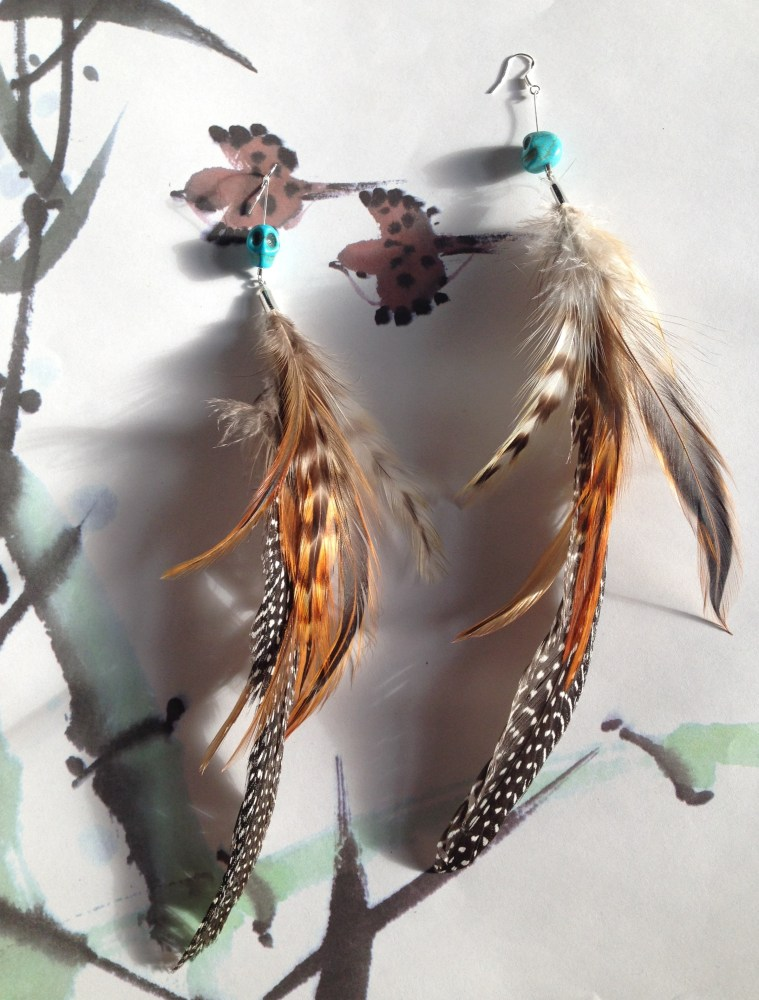 Four New Earrings - Flying Anachronism  (1/4)