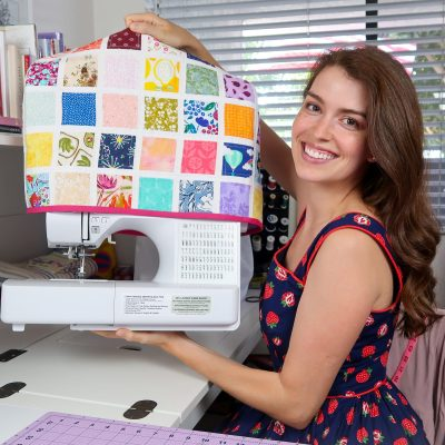 """""""Palette"""" Sewing Machine Cover"""