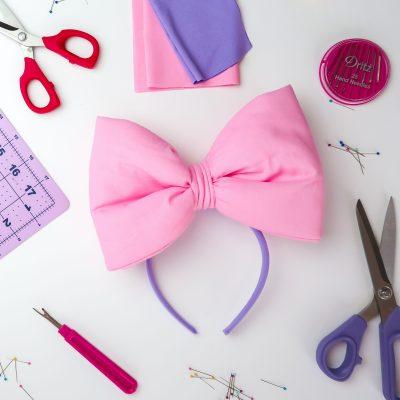 Sew an Over-Sized Bow Headband