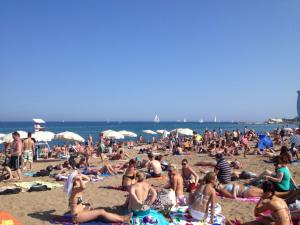Beachin' in Barcelona