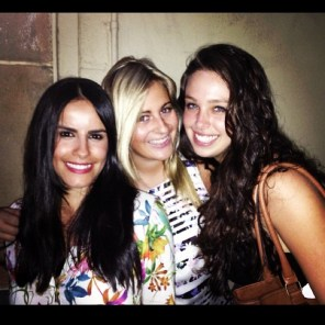 Natalie, Hen and I out and about