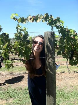 Playing in some Vineyards - Hunter Valley 3/22/2014