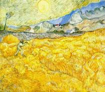 Wheatfield with Reaper