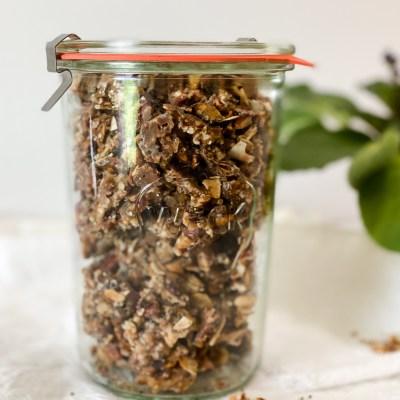 Vanilla Coconut Grain-Free Granola