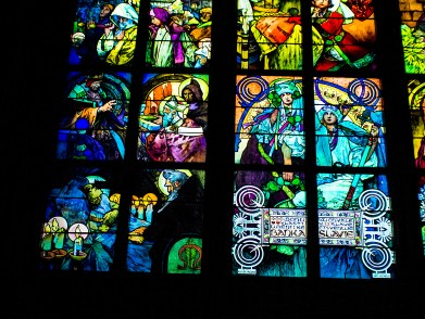 Mucha Window in St. Vitus