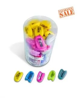 Sharpener, Single Hole, Assorted Color, Tip Top, ...