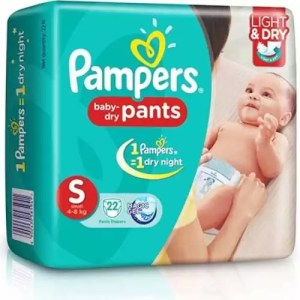 Pampers Baby Dry Pants S 4-8Kg 60P