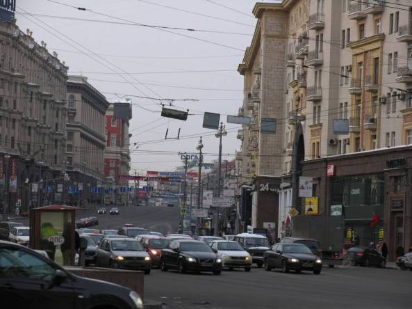 Москва, Тверская улица