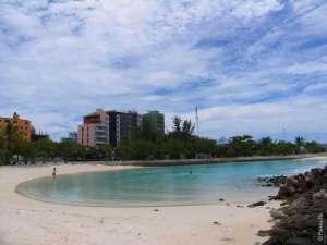 Пляж в Мале