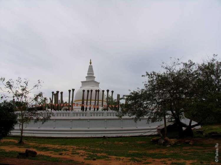 Анурадхапура - Дагоба Тхупарама