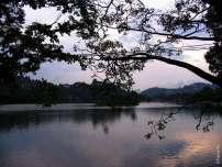 Закат на озере Кири Михуда