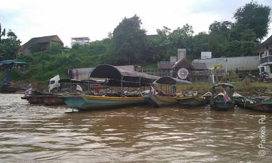 Тайско-лаосская граница, Меконг