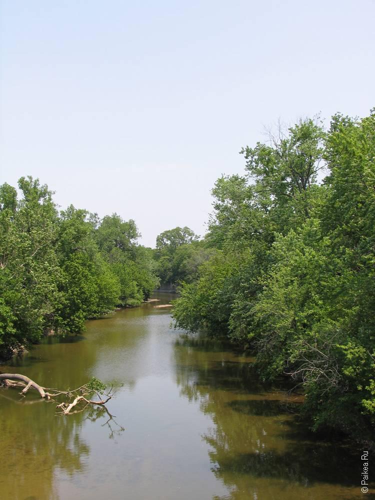 Индианаполис река
