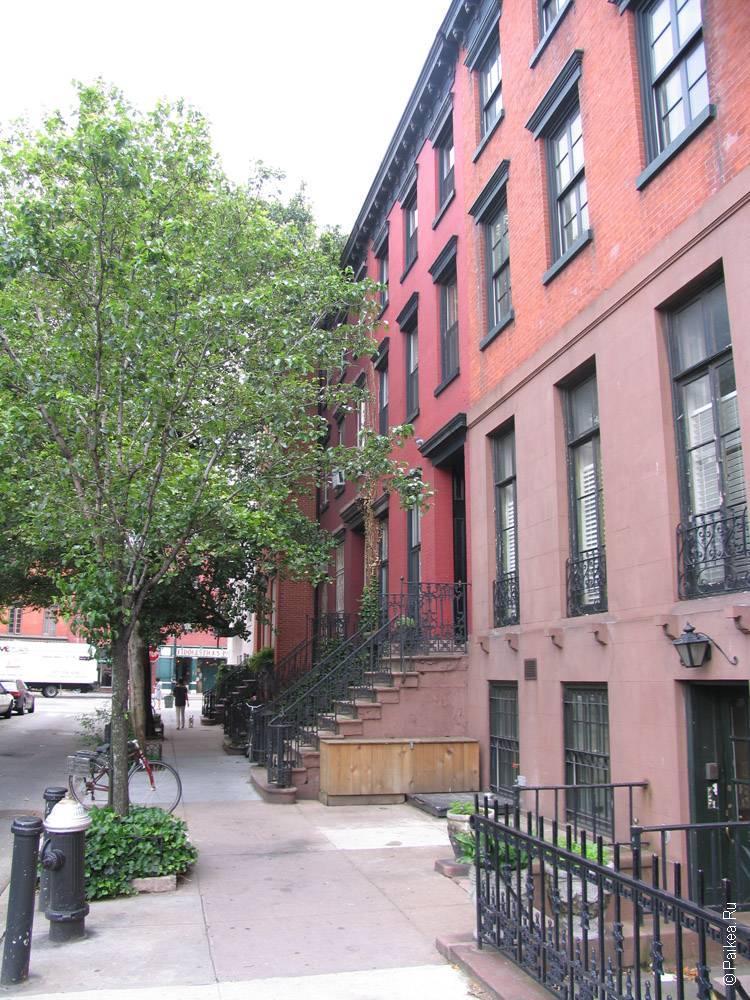 жилой дом в нью-йорке