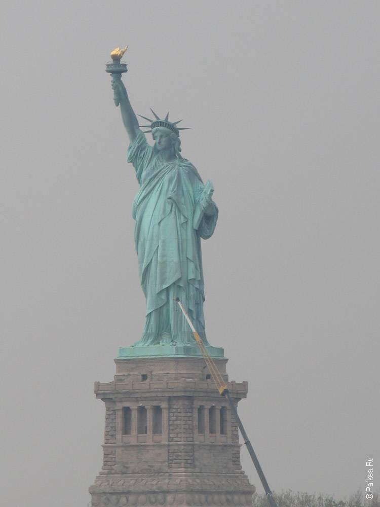нью-йорк статуя свободы
