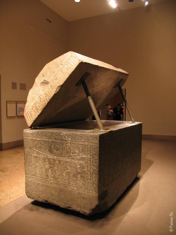 нью-йорк гробница в египетском зале