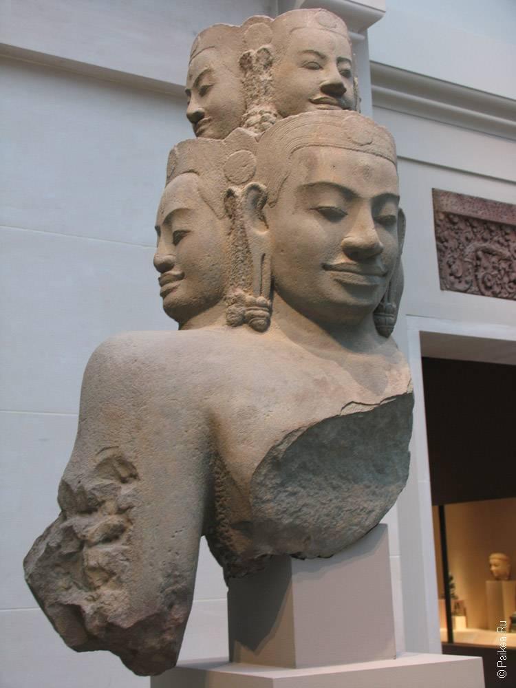 нью-йорк статуя многоликого будды