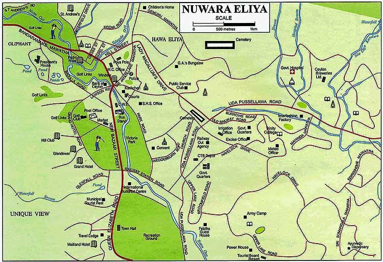 Нувара Элия карта