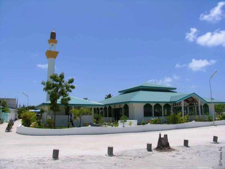 Мечеть на Мальдивах