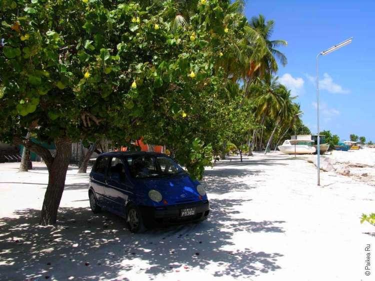 Остров Маафуши Мальдивы