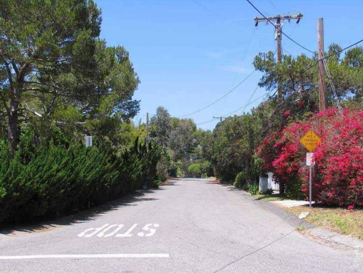 улица в Малибу