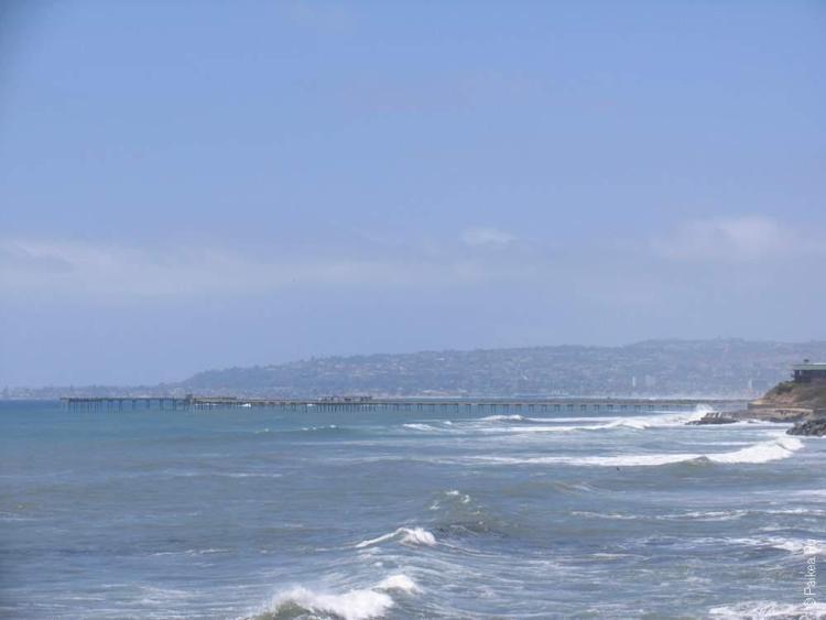 тихий океан в сан диего калифорния сша