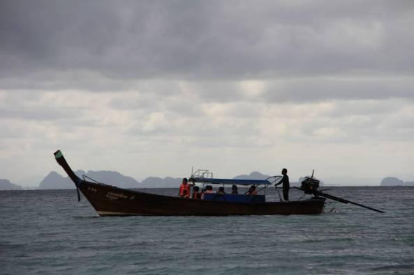 Лонгтейл лодка краби