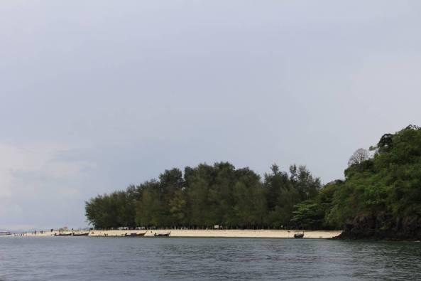 пляж на острове пода экскурсия 4 острова краби