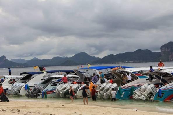 моторные лодки экскурсия 4 острова краби