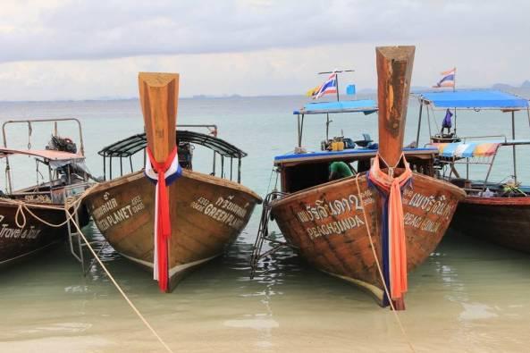 Деревянные лодки экскурсия краби