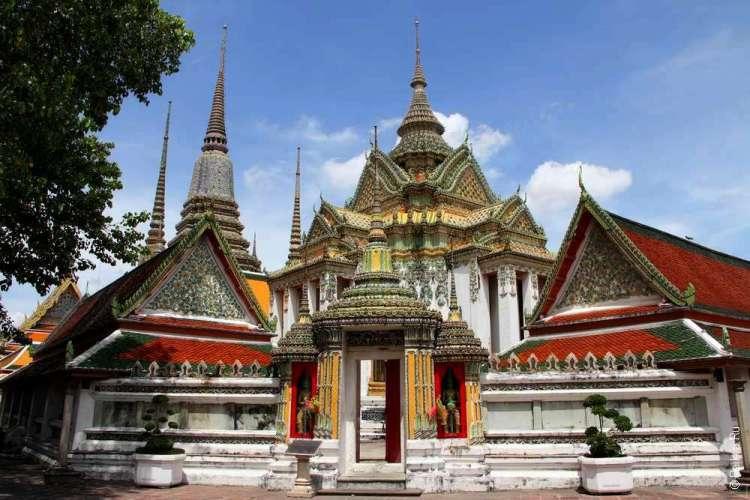 Храм лежащего Будды, Бангкок, Таиланд