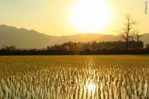 Закат в Мае Сай Таиланд