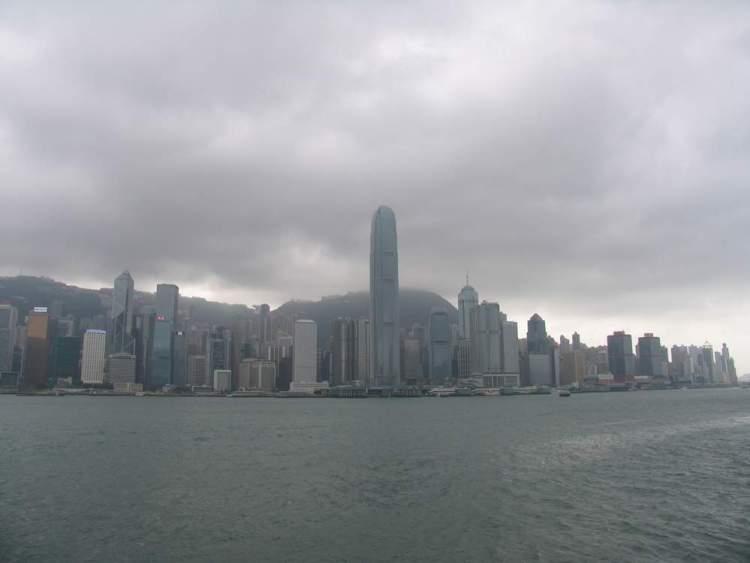 деловой центр в Гонконге