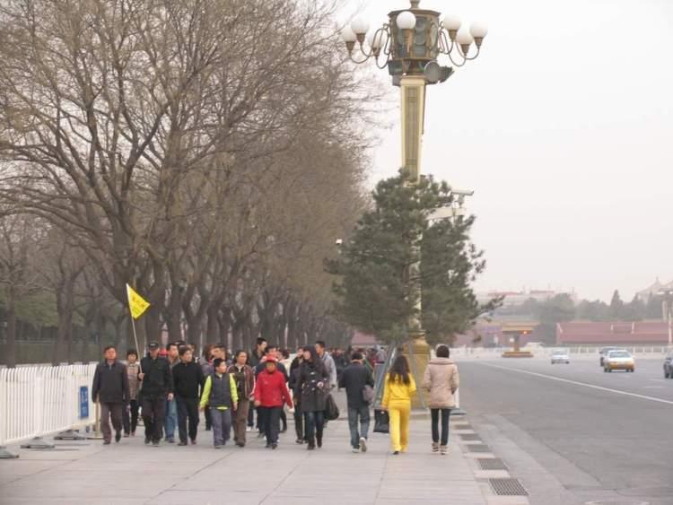Достопримечательности Пекикна - Площадь Тяньаньмэнь