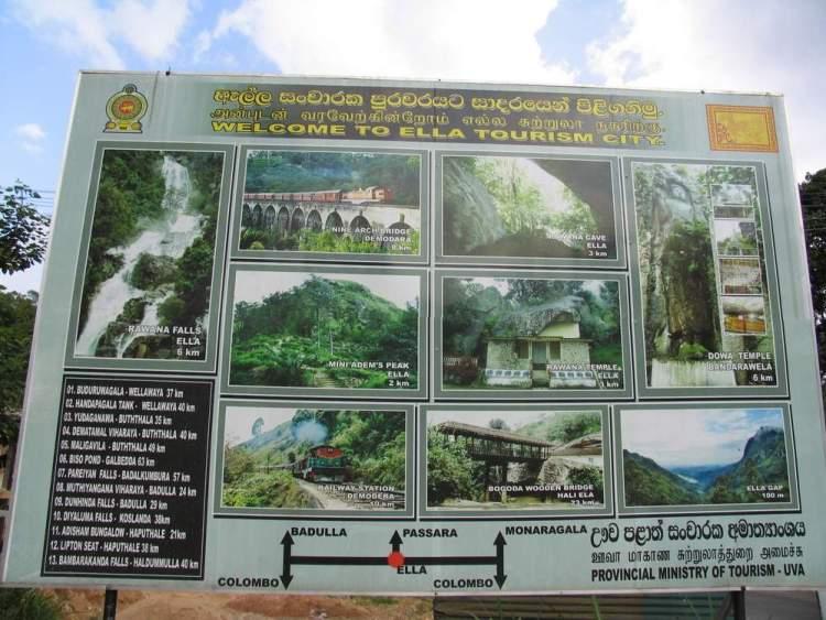 Элла Шри-Ланка что посмотреть
