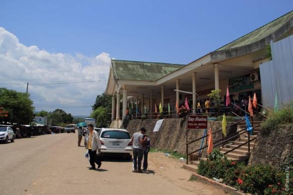 На границе Таиланда и Лаоса (Thailand-Laos border)
